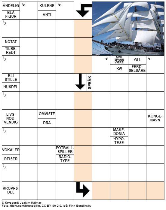 Dagens kryssord – 14. Januar – 2020