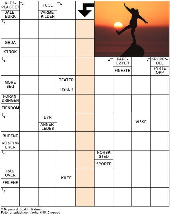 Dagens kryssord – 27. Mars - 2020