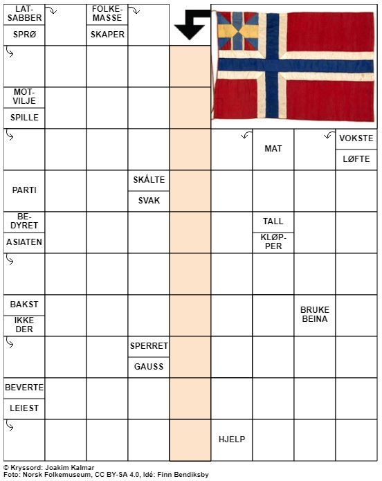 Dagens kryssord – 1. November- 2020